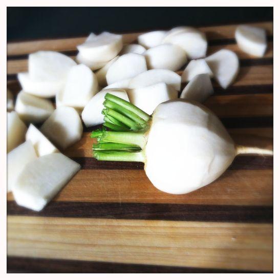 farmer's market turnips