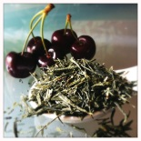colorado cherries and sencha green tea