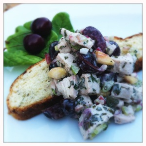 cherry sencha chicken salad