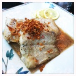 milk oolong tea-braised fish