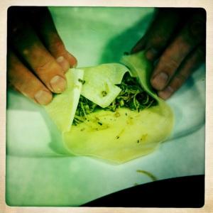 包茶蘑菇蛋卷