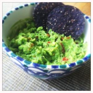 sweet lavender guacamole