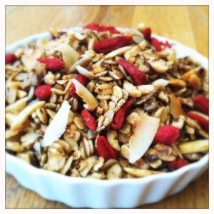 gogi berry granola