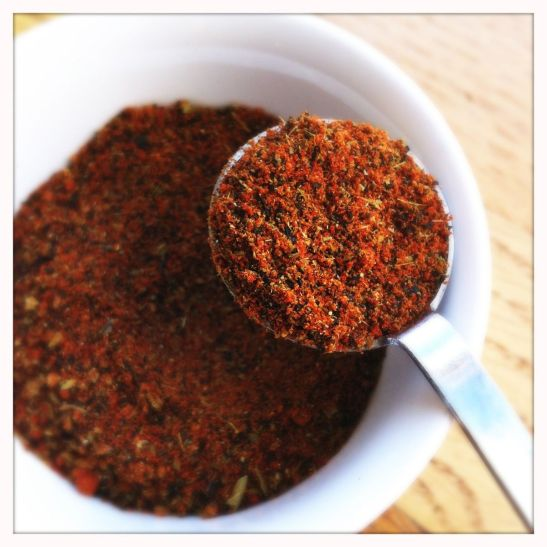 lapsang souchong tea-chili powder