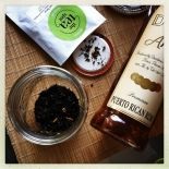 tea spot's harvest spice tea and aged rum