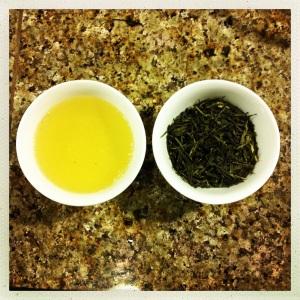 zanitea lemon sencha green tea blend