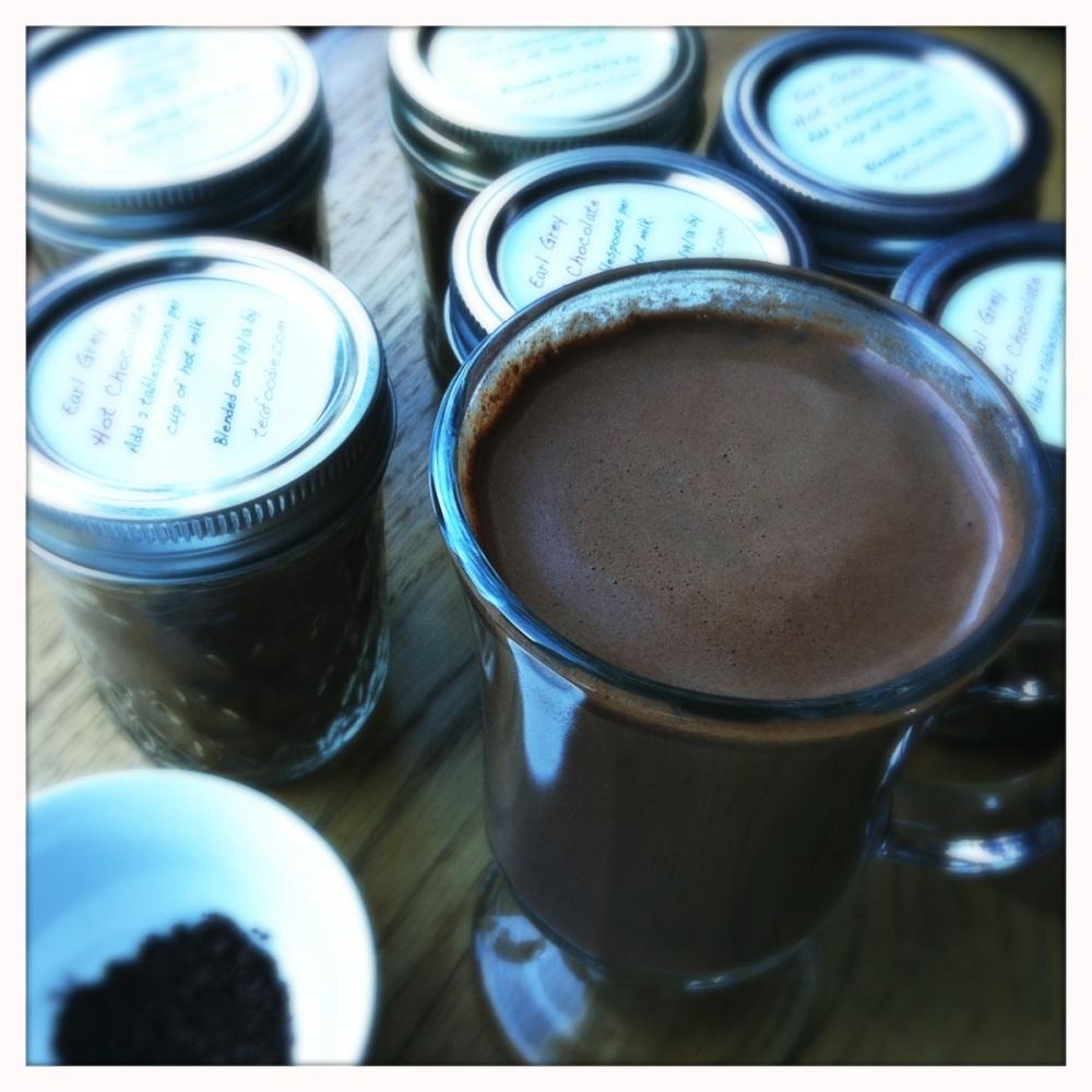伯爵茶热巧克力