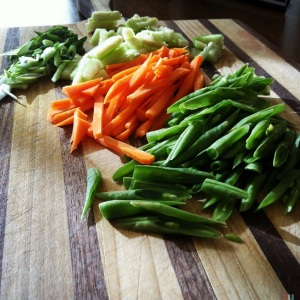 fridge veggies for quinoa salad