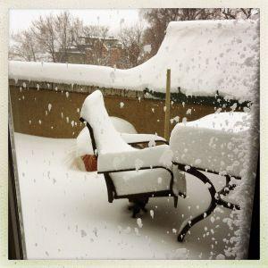 丹佛下雪天