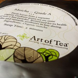 art of tea grade a matcha