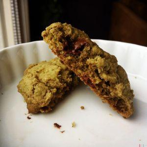 抹茶椰子饼干质地