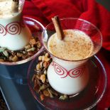 chai infused coquito