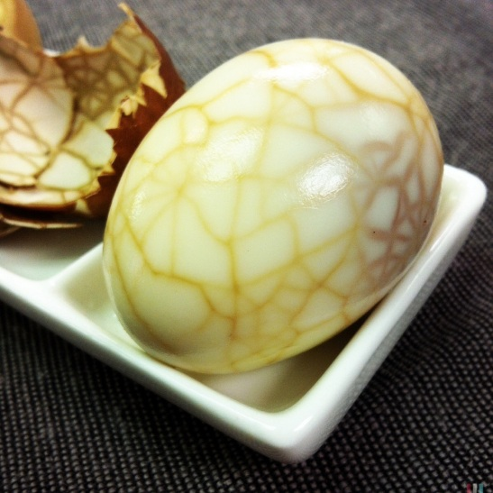 citrus spice tea egg
