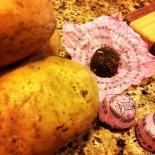 pu-erh with potatoes