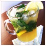 lemon basil mojito