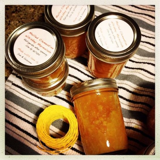 homemade marmalade gifts