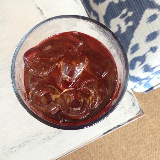 loose leaf sweetened iced tea