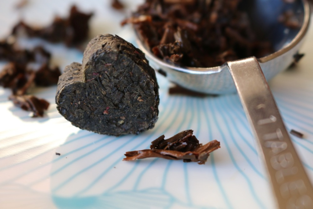 rose puerh tea from story of my tea