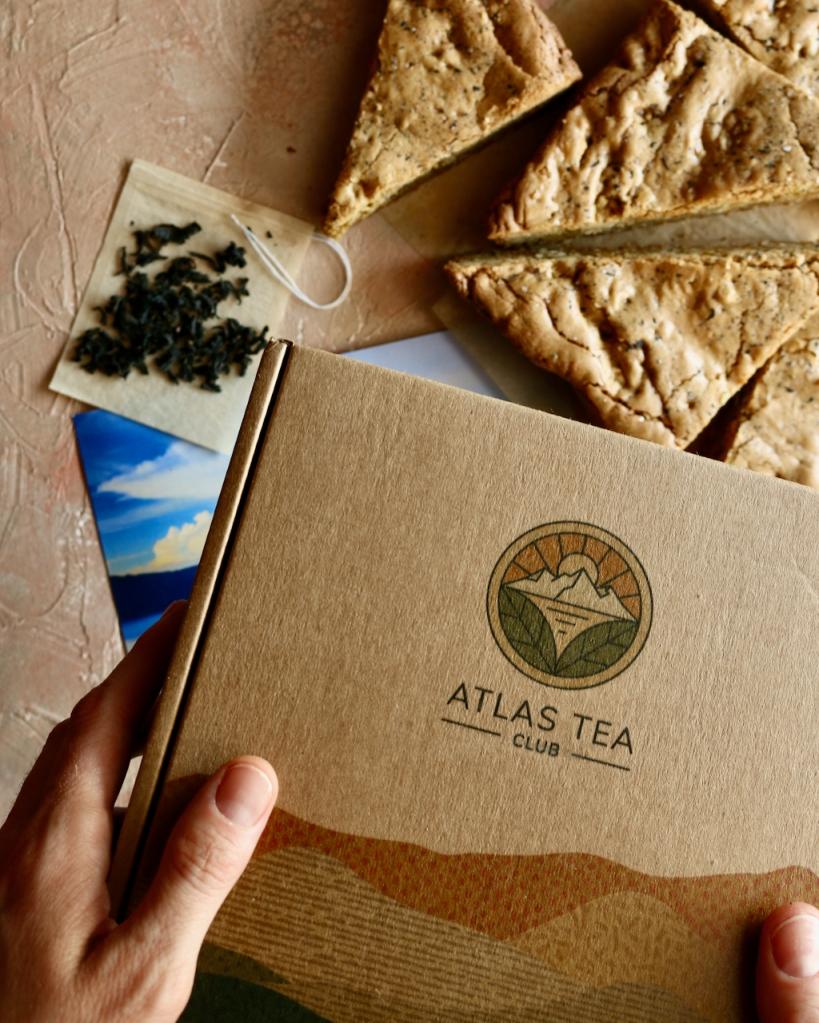 阿特拉斯茶俱乐部的月度茶盒